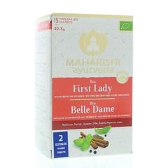 Maharishi Ayurv First lady theezakjes bio (15 zakjes)