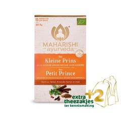 Maharishi Ayurv Kleine prins thee bio (17 zakjes)