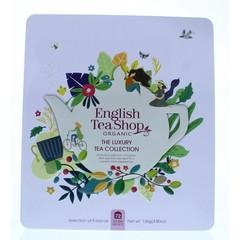 English Tea Shop Luxury tea collection gift tin bio (72 zakjes)