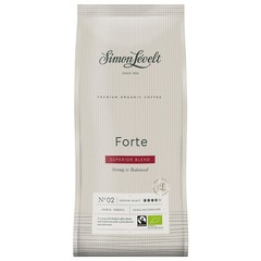 Simon Levelt Forte superior blend gemalen koffie (1 kilogram)