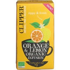 Clipper Orange & lemon infusion bio (20 zakjes)