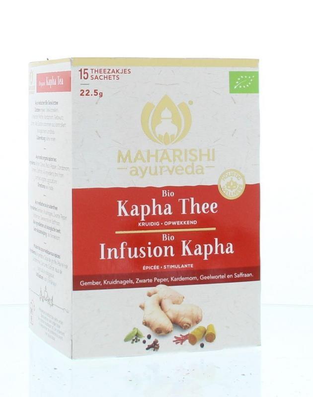 Maharishi Ayurv Kapha thee bio (15 zakjes)