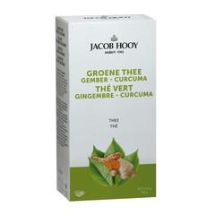 Jacob Hooy Groene thee gember curcuma thee (20 zakjes)