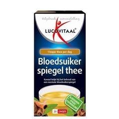 Lucovitaal Bloedsuikerspiegel thee (20 stuks)