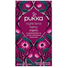 Pukka Org. Teas Night time berry bio (20 zakjes)
