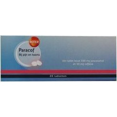 Roter Paracof (20 tabletten)