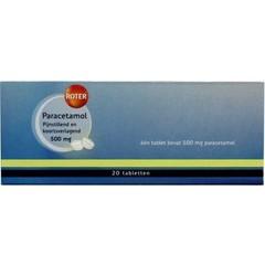 Roter Paracetamol 500 mg (20 tabletten)