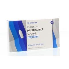 Leidapharm Paracetamol 500 mg (10 zetpillen)