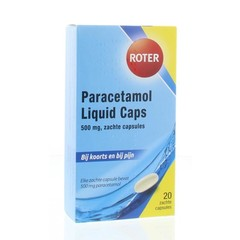 Roter Paracetamol 500 mg (20 licaps)