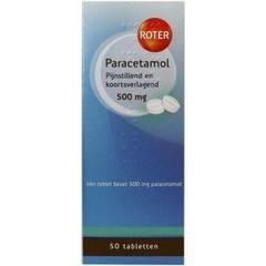 Roter Paracetamol 500 mg (50 tabletten)