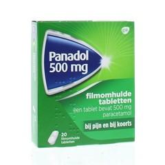 Panadol Panadol glad 500 mg (20 tabletten)