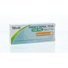 Pharmachemie Paracetamol 500 mg (20 tabletten)
