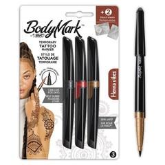 BIC Tattoo marker henna 3+2 (1 set)