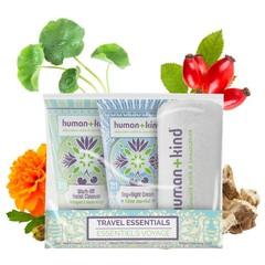 Human+Kind Gezichtsverzorging reisverpakking vegan (1 set)