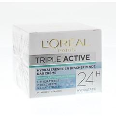 Loreal Dermo expertise triple active norm/gem hd dagcreme (50 ml)