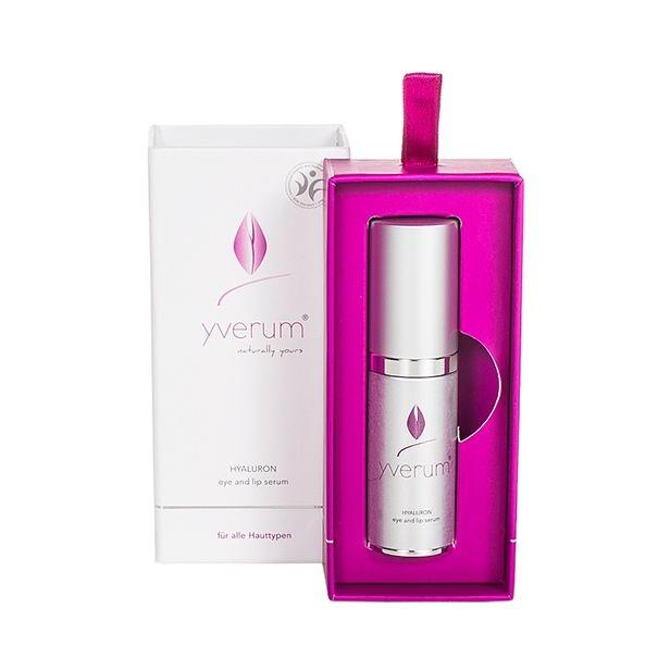 Yverum Hyaluron oog lip serum vegan (15 ml)