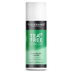 Tisserand Skin relief cream tea trea aloe vera (50 ml)