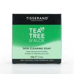 Tisserand Skin clearing soap tea tree aloe (100 gram)