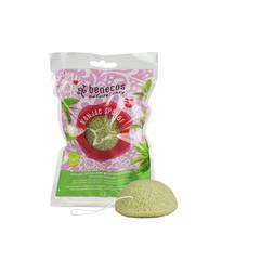 Benecos Konjac spons green tea (1 stuks)