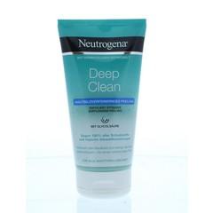 Neutrogena Deep clean verfijnende peeling (150 ml)