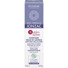 Jonzac Sublimactive anti-aging oog- en lipcontourcreme (15 ml)