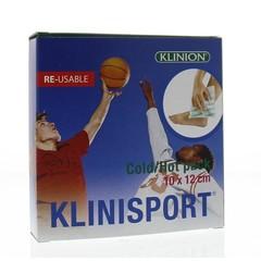 Klinisport Koud-warm kompres 10 x 12 cm (1 stuks)