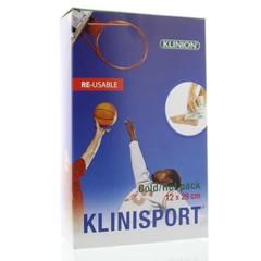 Klinisport Koud-warm kompres 12 x 29 cm L (1 stuks)