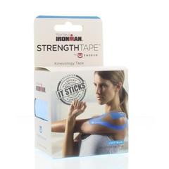 Strengthtape Strengthtape pre cut 5 m blauw 20 strips (1 rol)