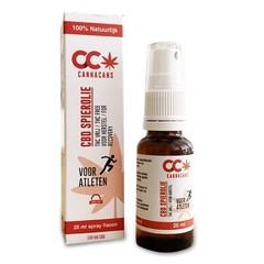 Cannacans CBD Spierolie atleten (20 ml)