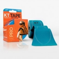 KT Tape Pro precut 5 meter licht blauw (20 stuks)