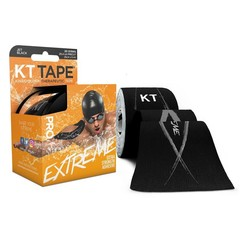 KT Tape Pro extreme precut 5 meter zwart (20 stuks)