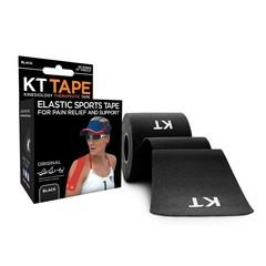 KT Tape Pro original precut 5 meter zwart (20 stuks)