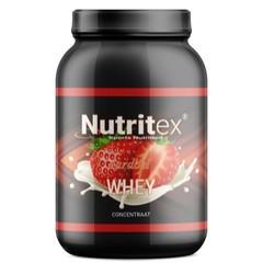 Nutritex Whey proteine aardbei (750 gram)