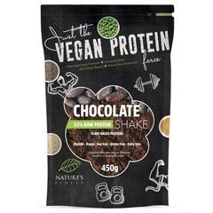 Natures Finest Proteine chocolade vegan bio (450 gram)