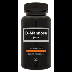 D-mannose 500 mg puur (90 caps)