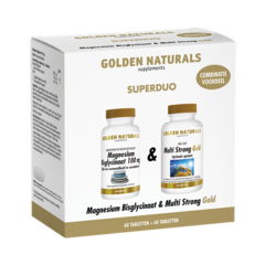Magnesium Bisglycinaat + Multi Strong Gold