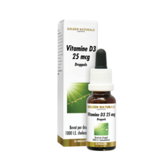 Vitamine D3 25 mcg druppels