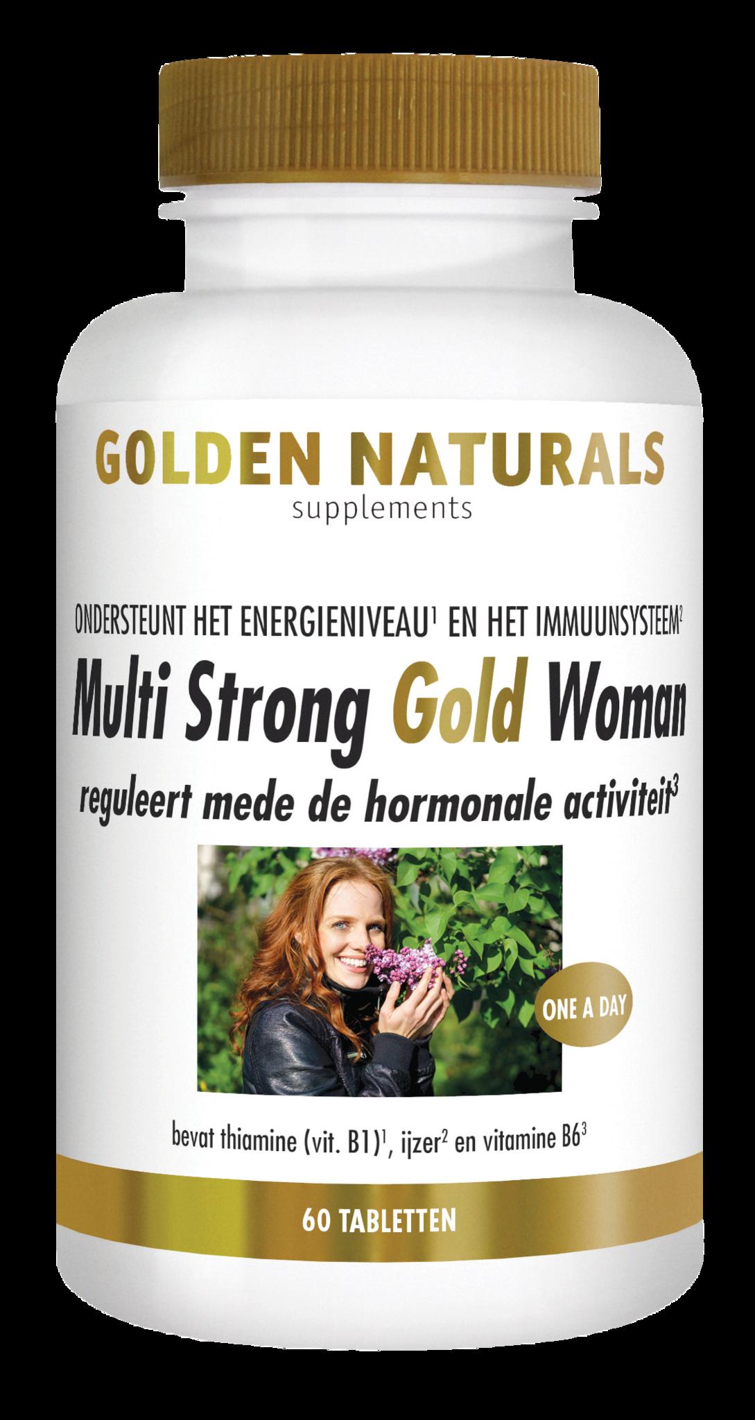 Golden Naturals Multi Strong Gold Woman