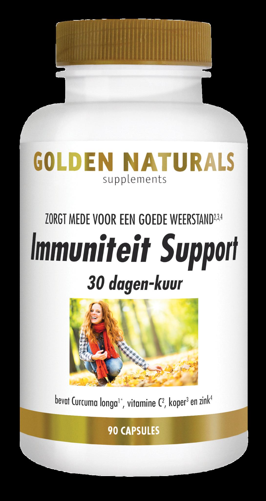 Golden Naturals Immuniteit Support 30 dagen-kuur