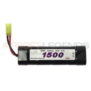 101Inc. 9.6V NiMH batterij - 1500 MaH