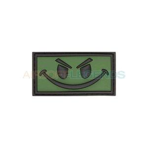 JTG JTG Evil Smiley Rubber Patch OD