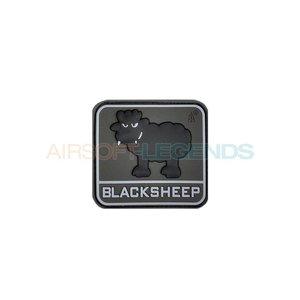 JTG Blacksheep Rubber Patch Black