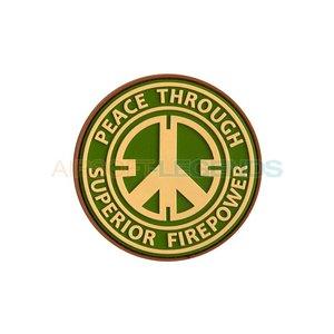 JTG JTG Peace Rubber Patch Multicam