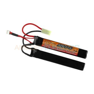 VB Power VB Power 7.4V LiPo 2200mAh 15C TwinType