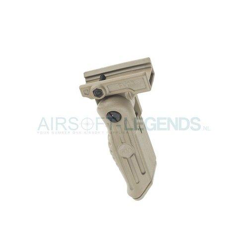 CAA Tactical CAA Tactical 3 Pos Front Arm Folding Grip Khaki
