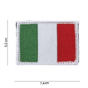 101Inc. 101Inc. Italiaanse vlag Patch van stof met Velcro