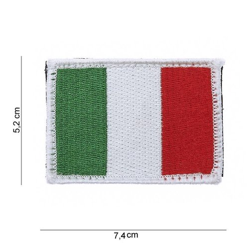 101Inc. 101Inc. Italian Flag Patch with Velcro