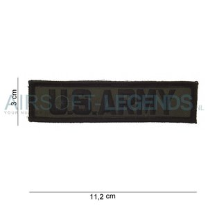 101Inc. 101Inc U.S. Army Patch (Nametape)
