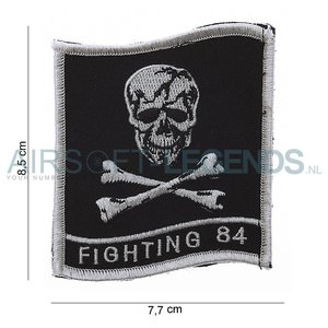 101Inc. 101Inc Fighting 84 Skull Patch