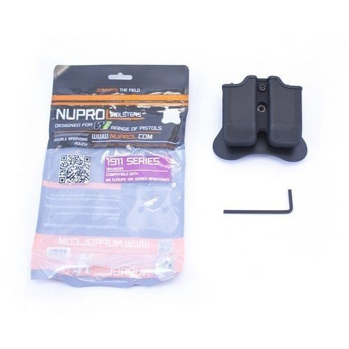 NUPROL Nuprol 1911/MEU Series Double Magazine Pouch